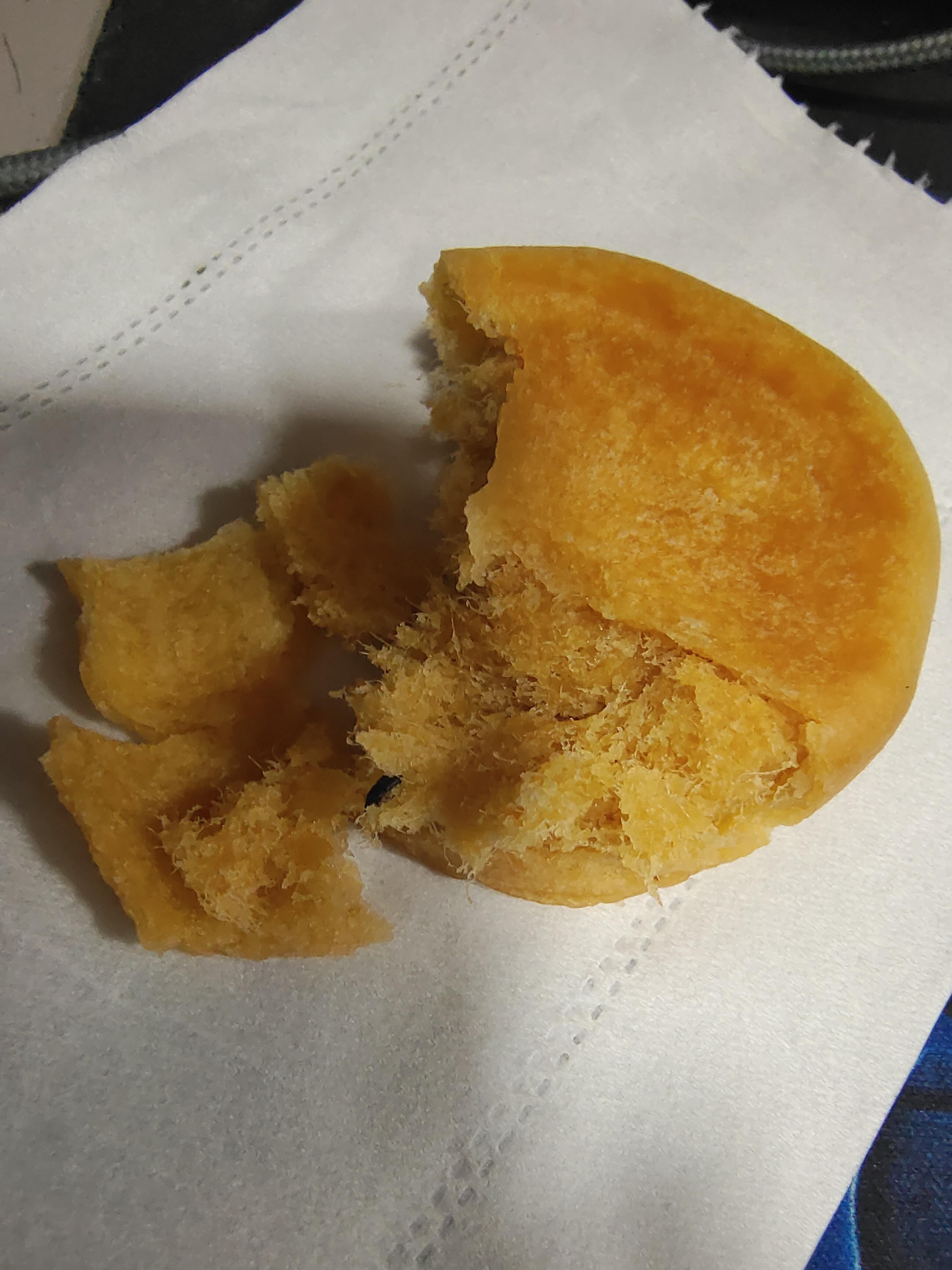 良品铺子肉松饼里面有臭虫